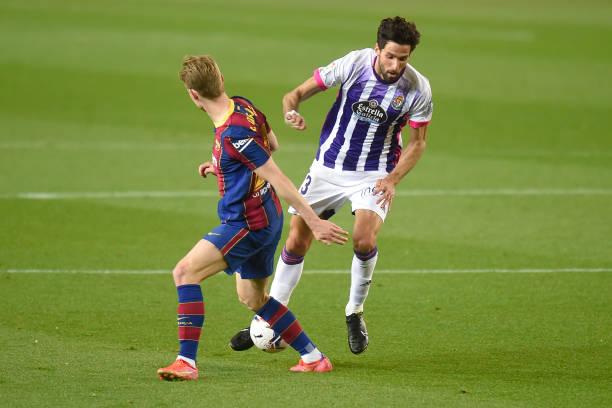 """""""Chân gỗ"""" Dembele tỏa sáng ở phút 90, Barcelona nhọc nhằn đánh bại Valladolid với tỷ số tối thiểu - Ảnh 2."""