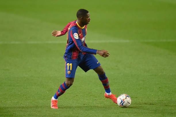 """""""Chân gỗ"""" Dembele tỏa sáng ở phút 90, Barcelona nhọc nhằn đánh bại Valladolid với tỷ số tối thiểu - Ảnh 5."""