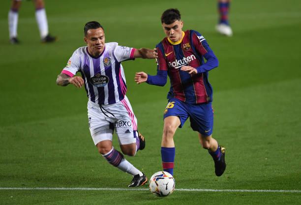 """""""Chân gỗ"""" Dembele tỏa sáng ở phút 90, Barcelona nhọc nhằn đánh bại Valladolid với tỷ số tối thiểu - Ảnh 4."""