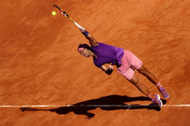 Djokovic hủy diệt đối thủ, Nadal thoát thua ngoạn mục ở vòng 3 Rome Masters - Ảnh 8.