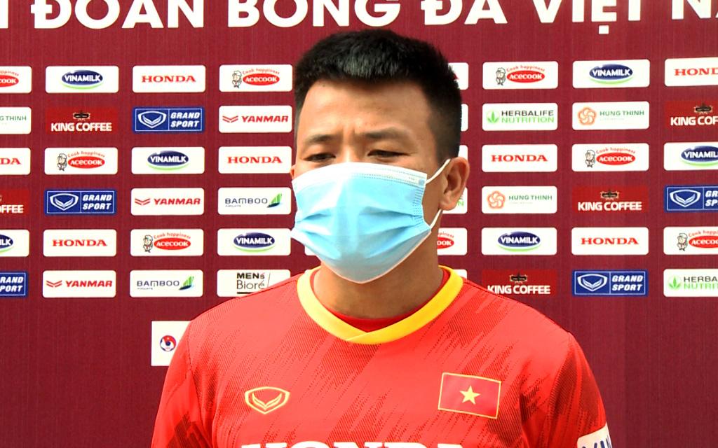 Cầu thủ U22 mong thầy Park cùng đội tuyển Việt Nam vào vòng loại cuối cùng World Cup 2022