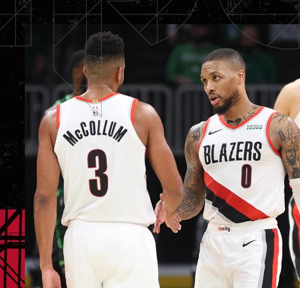 CJ McCollum và Damian Lillard bùng nổ trong thế trận đôi công, vượt mặt bộ đôi Jay-Jay của Boston Celtics - Ảnh 1.