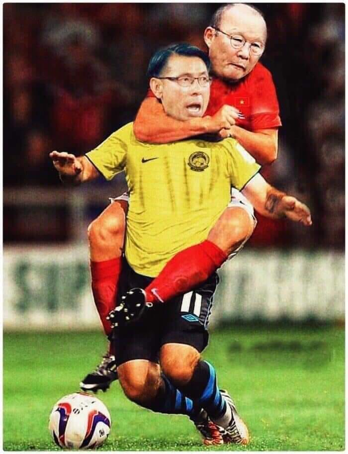 Fan Việt Nam chế ảnh cực gắt ĐT Malaysia sau trận thua thầy trò HLV Park Hang-seo - ảnh 9