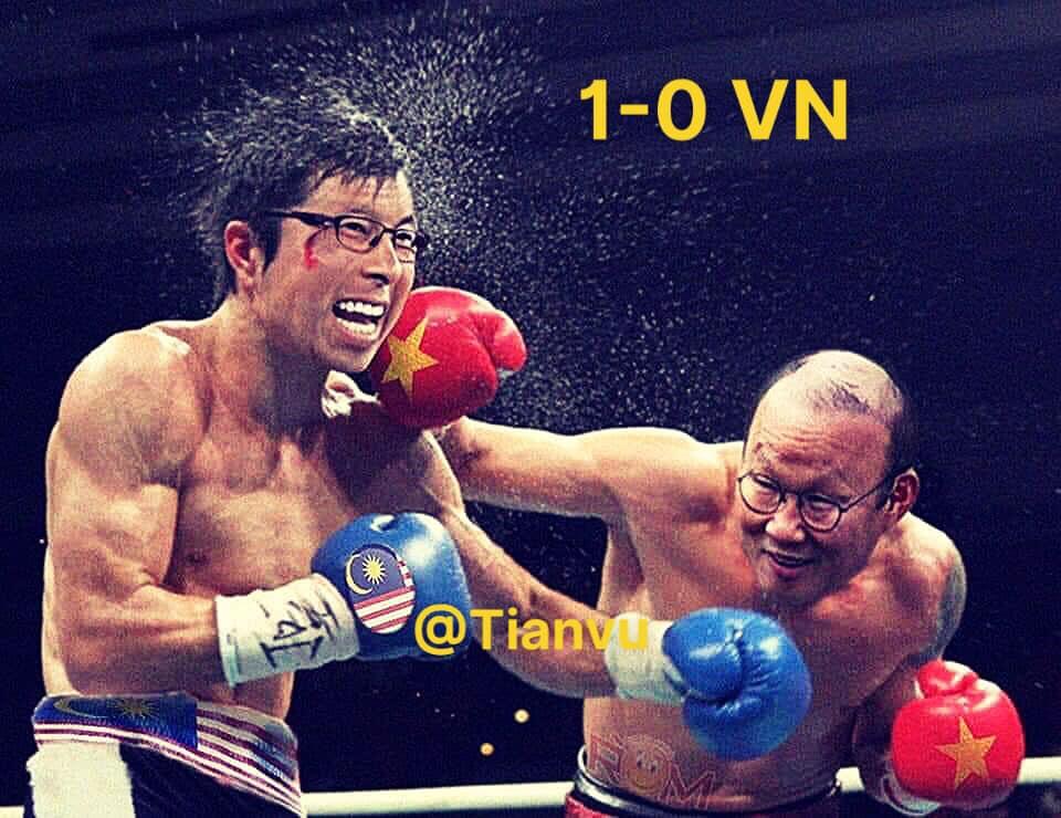 Fan Việt Nam chế ảnh cực gắt ĐT Malaysia sau trận thua thầy trò HLV Park Hang-seo - ảnh 8