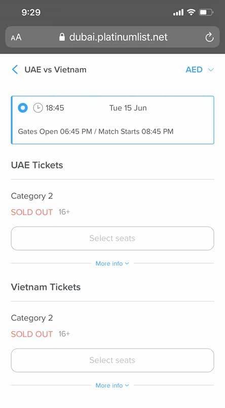 Người Việt gian nan tìm vé xem trận đội tuyển Việt Nam gặp đội tuyển UAE - Ảnh 3.