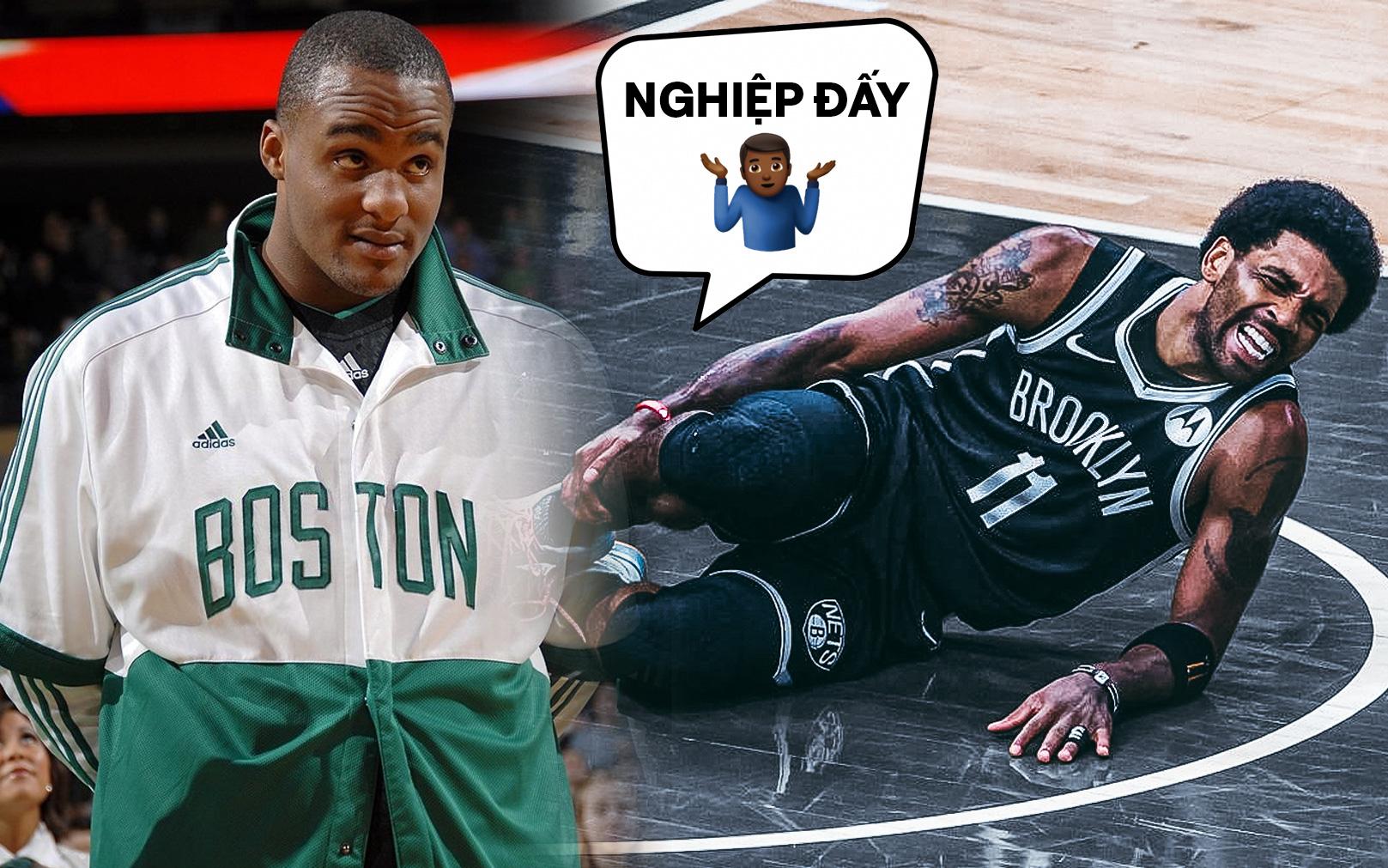 """Đăng đàn cà khịa Kyrie Irving dính """"nghiệp quật"""": Cựu sao Boston Celtics bị netizen bóc mẽ cực mạnh"""