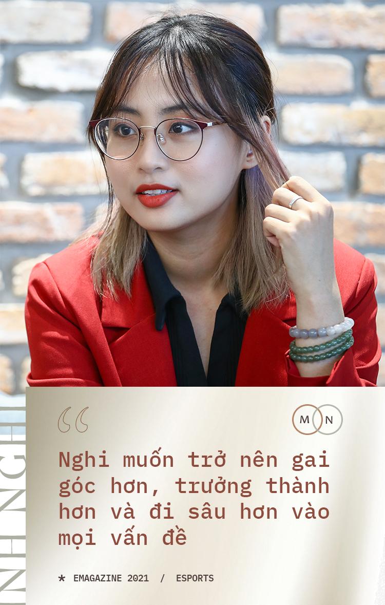 [Ngồi xuống và nghe tôi kể về Esports] Minh Nghi: Mọi người có phần khắc nghiệt với phái nữ trong giới thể thao điện tử  - Ảnh 8.