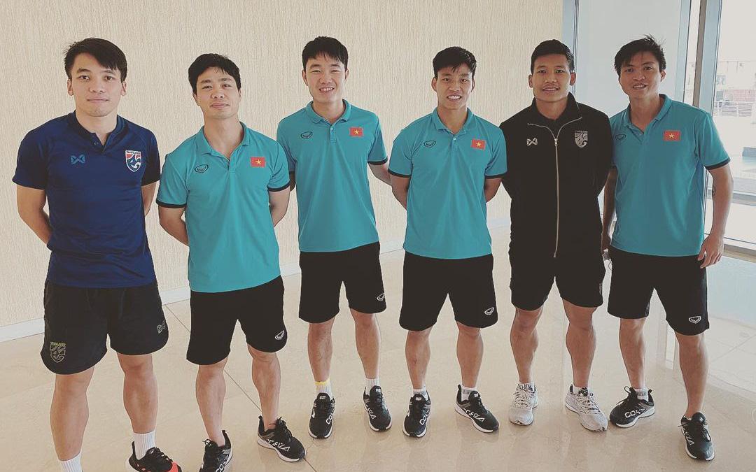 Công Phượng, Xuân Trường check-in cùng tuyển thủ Thái Lan: Hóa ra là hội bạn cũ