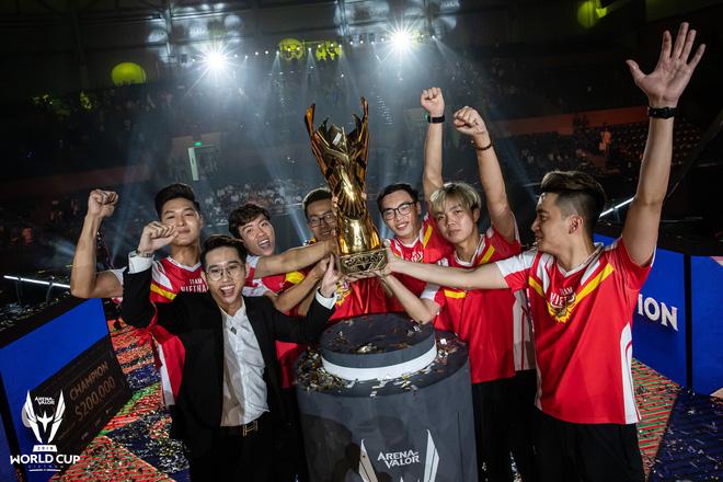 Team Flash hiện là đương kim vô địch AWC