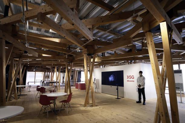 Làng vận động viên của Olympic Tokyo 2021 mở cửa trong ảm đạm - Ảnh 7.