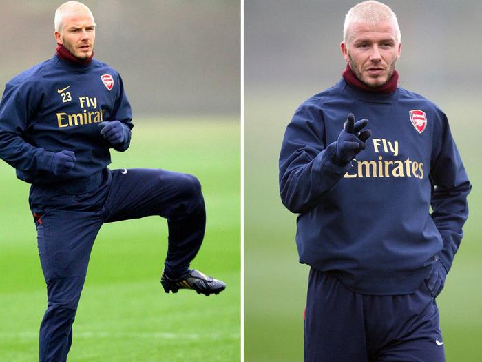 """David Beckham """"hồi xuân"""" với kiểu đầu bạch kim - Ảnh 3."""