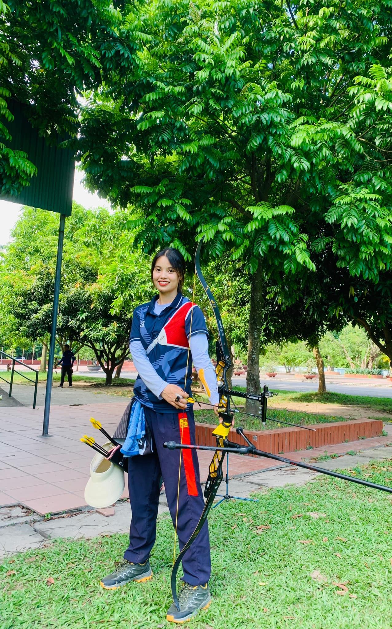 Đấu trường Olympic sẽ là cơ hội để Ánh Nguyệt thể hiện bản thân đem về vinh quang cho tổ quốc. Sự dễ thương của cô