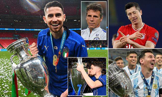 """Huyền thoại Zola: """"Hãy quên Messi và Lewandowski đi và trao Quả bóng vàng cho Jorginho"""" - Ảnh 1."""