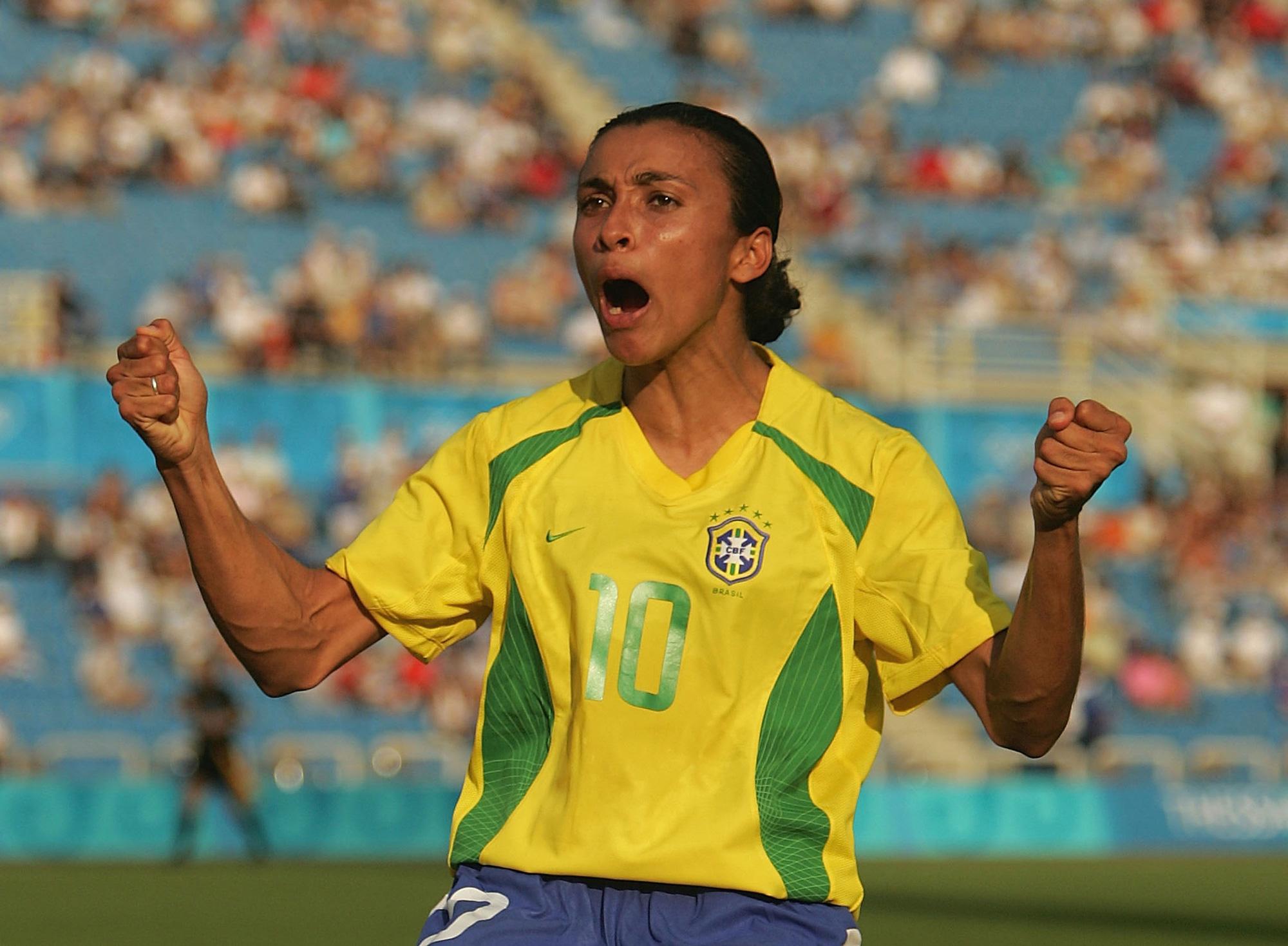 Hủy diệt tuyển Trung Quốc 5 bàn không gỡ, 2 nữ huyền thoại bóng đá Brazil lập kỷ lục Olympic - ảnh 4