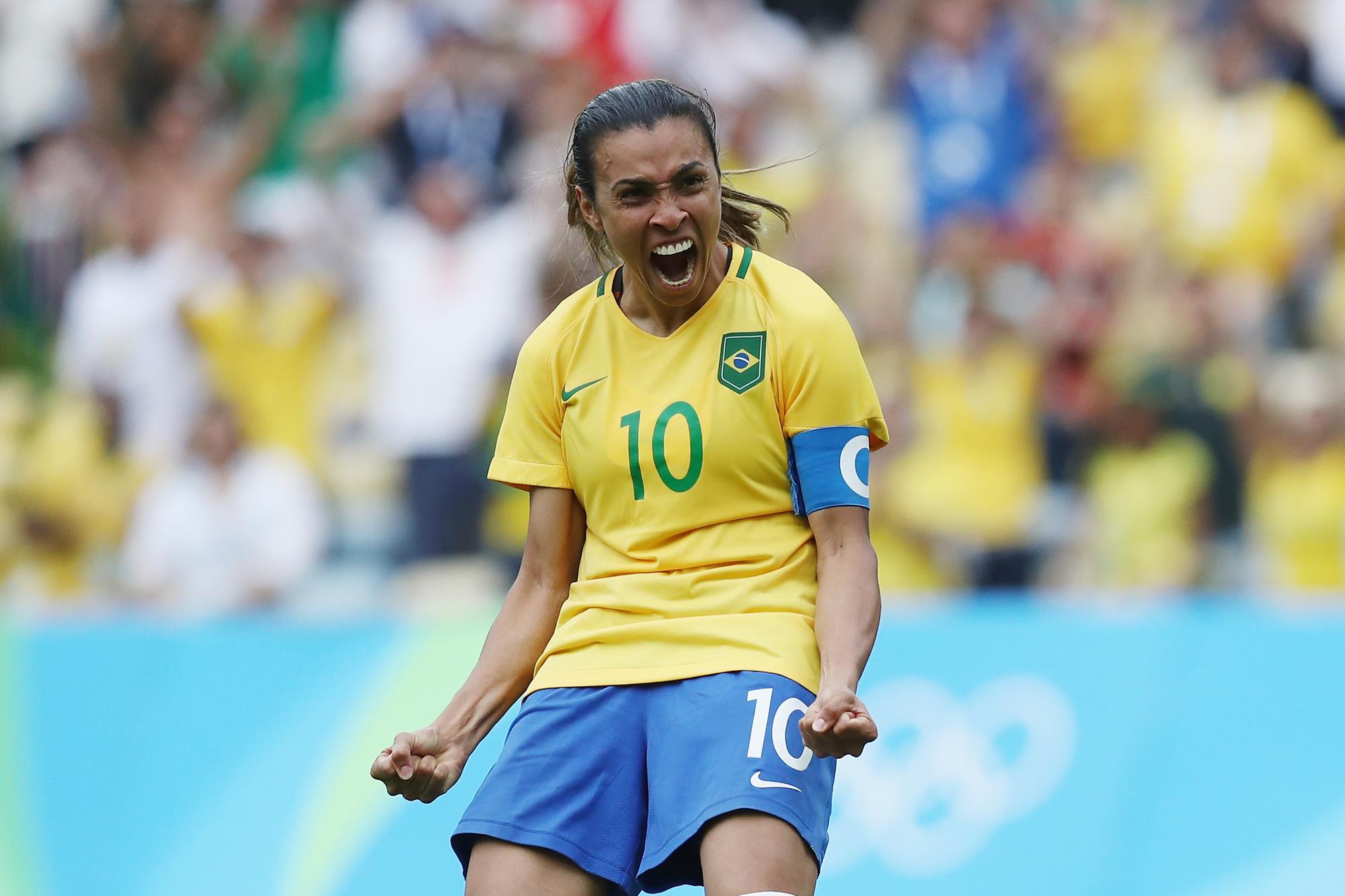 Hủy diệt tuyển Trung Quốc 5 bàn không gỡ, 2 nữ huyền thoại bóng đá Brazil lập kỷ lục Olympic - ảnh 5