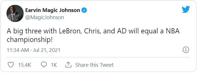 Magic Johnson: Chris Paul cần phải gọi ngay cho người bạn thân LeBron James - Ảnh 3.