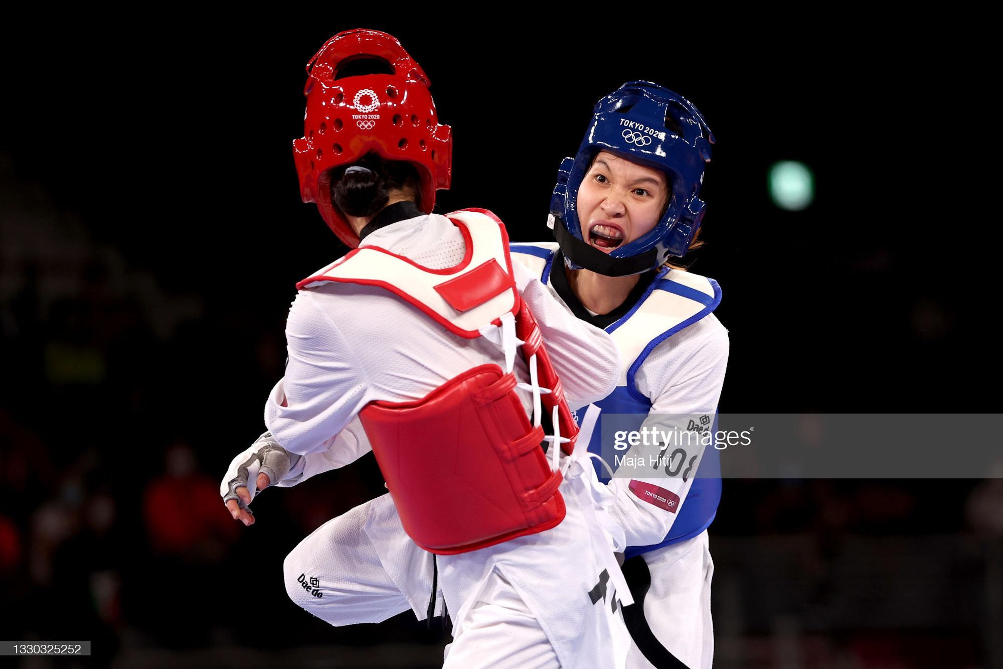 Nỗ lực đến đổ máu, Kim Tuyền (Taekwondo) phải dừng bước tiếc nuối ở Olympic Tokyo 2020 - Ảnh 7.