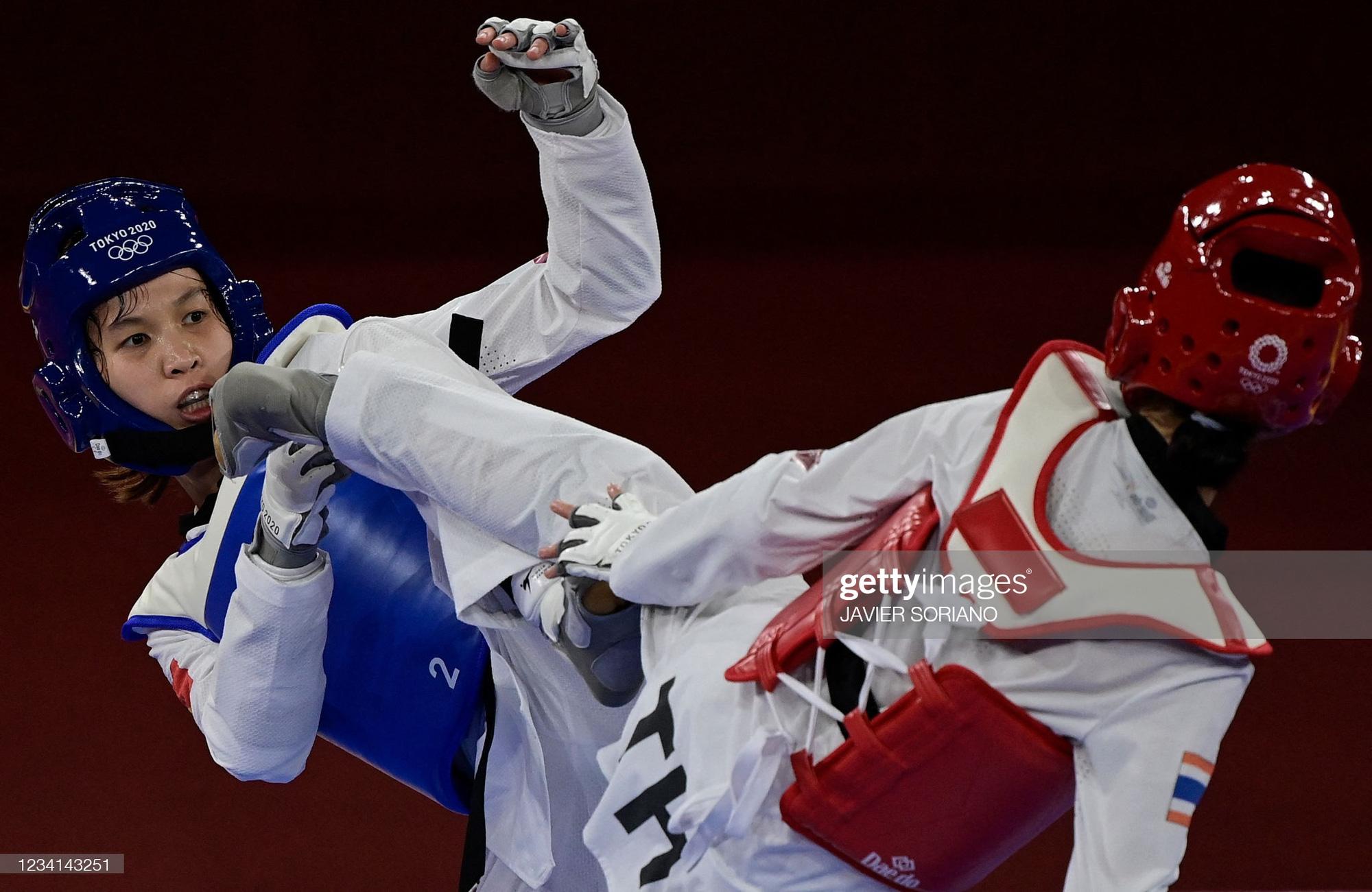 Nỗ lực đến đổ máu, Kim Tuyền (Taekwondo) phải dừng bước tiếc nuối ở Olympic Tokyo 2020 - Ảnh 6.