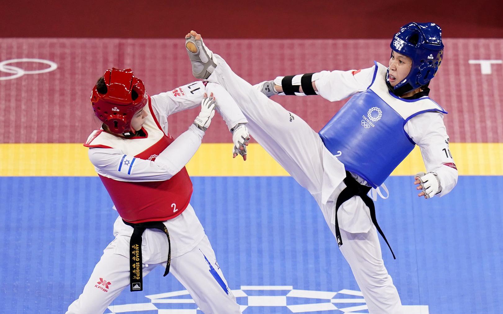 Nỗ lực đổ máu, Kim Tuyền (Taekwondo) phải dừng bước tiếc nuối ở Olympic Tokyo 2020