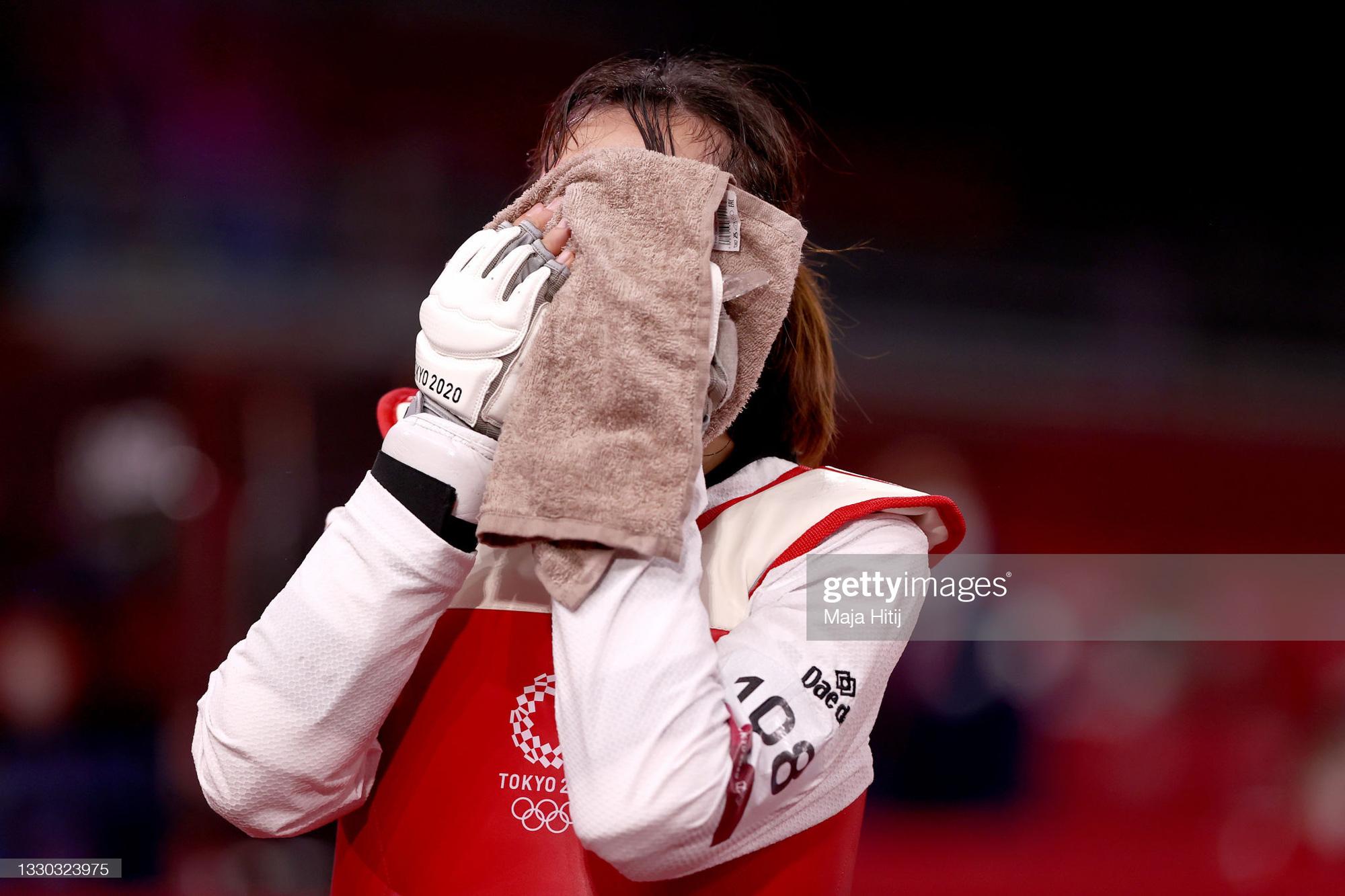 Nỗ lực đến đổ máu, Kim Tuyền (Taekwondo) phải dừng bước tiếc nuối ở Olympic Tokyo 2020 - Ảnh 11.