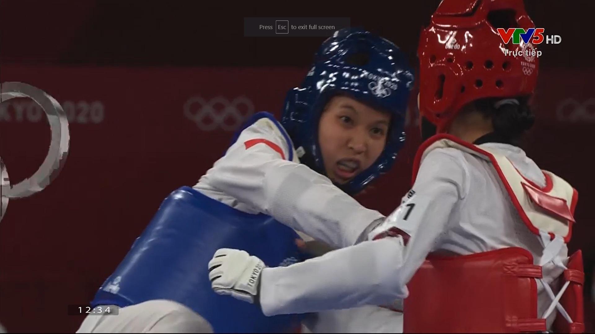 Nỗ lực đến đổ máu, Kim Tuyền (Taekwondo) phải dừng bước tiếc nuối ở Olympic Tokyo 2020 - Ảnh 5.