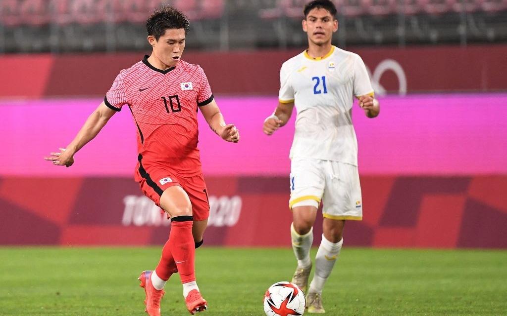 Hủy diệt Olympic Romania, Olympic Hàn Quốc vươn lên dẫn đầu bảng