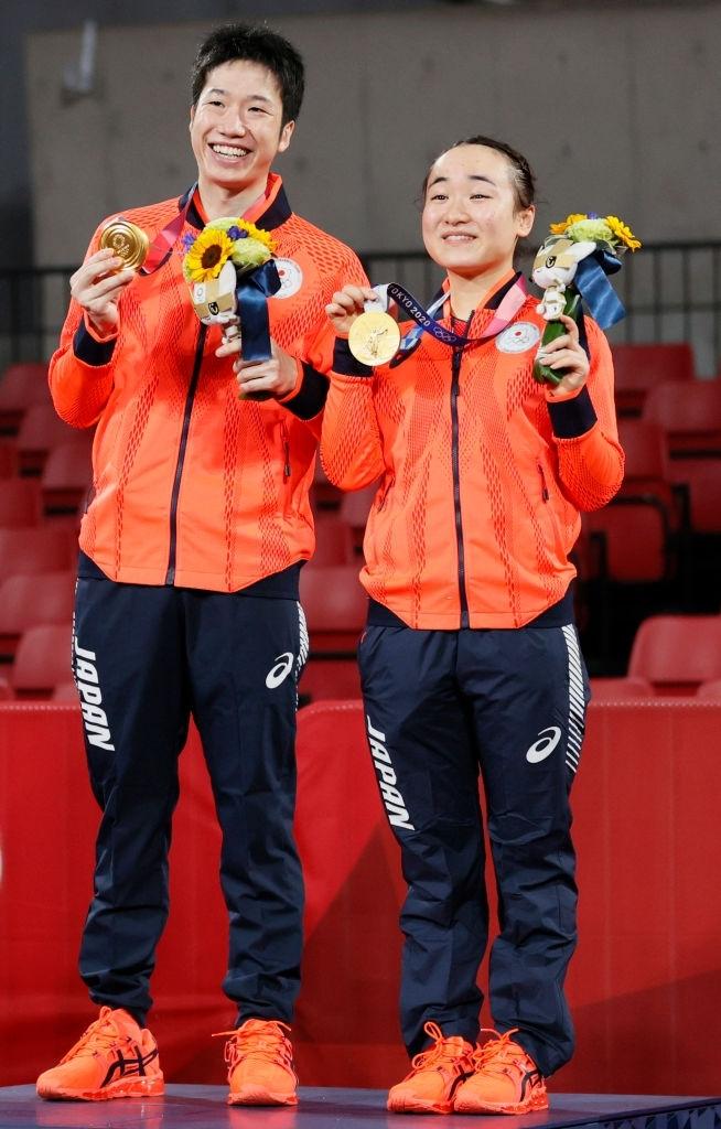 Ngược dòng kịch, Nhật Bản có huy chương vàng bóng bàn đầu tiên tại Olympic Tokyo 2020. - Ảnh 2.