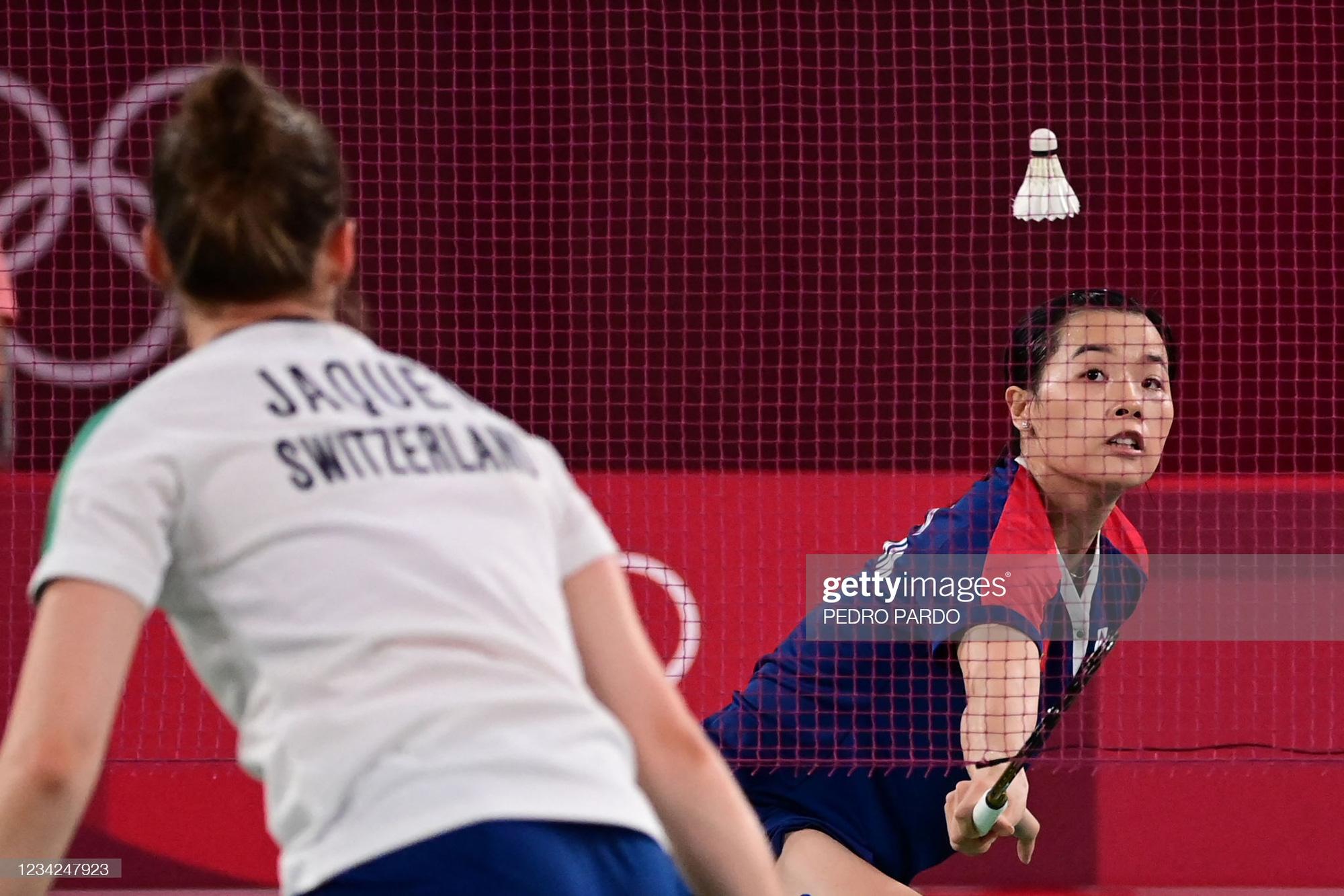 Olympic Tokyo 2020: Nguyễn Thùy Linh xuất sắc đánh bại tay vợt hơn 3 bậc trên BXH thế giới - Ảnh 3.