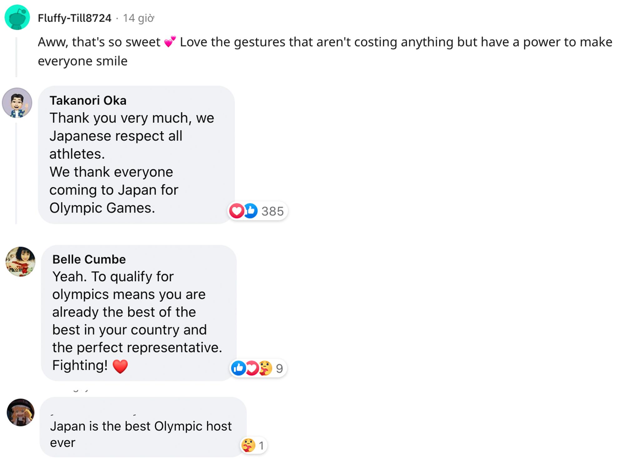 Cộng đồng quốc tế cảm kích trước thông điệp tuyệt vời của ông lão Nhật Bản tại Olympic Tokyo 2020 - ảnh 3