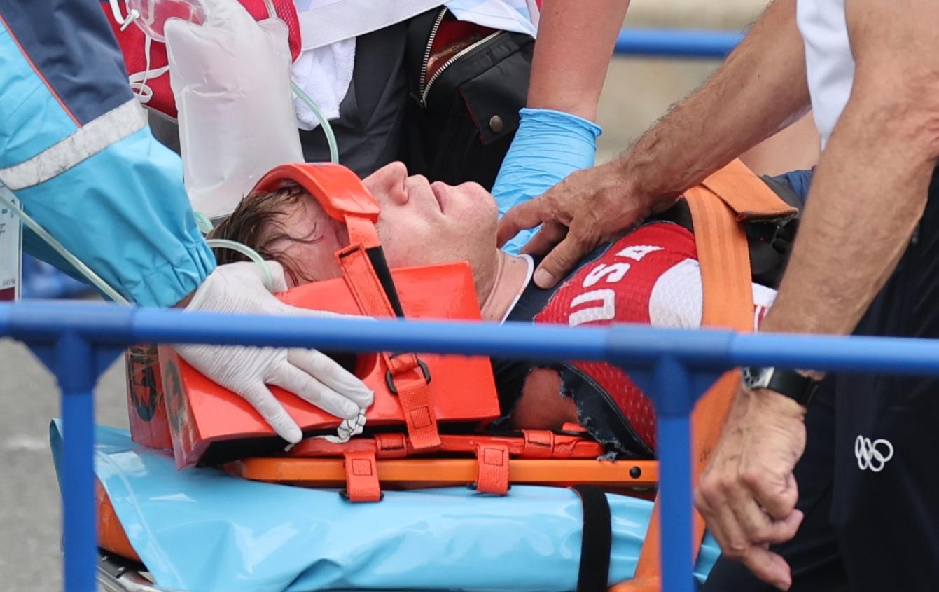 Kinh hoàng khoảnh khắc tay đua BMX bị đồng nghiệp chèn qua người, phải nhập viện khẩn cấp ở Olympic 2020 - ảnh 8