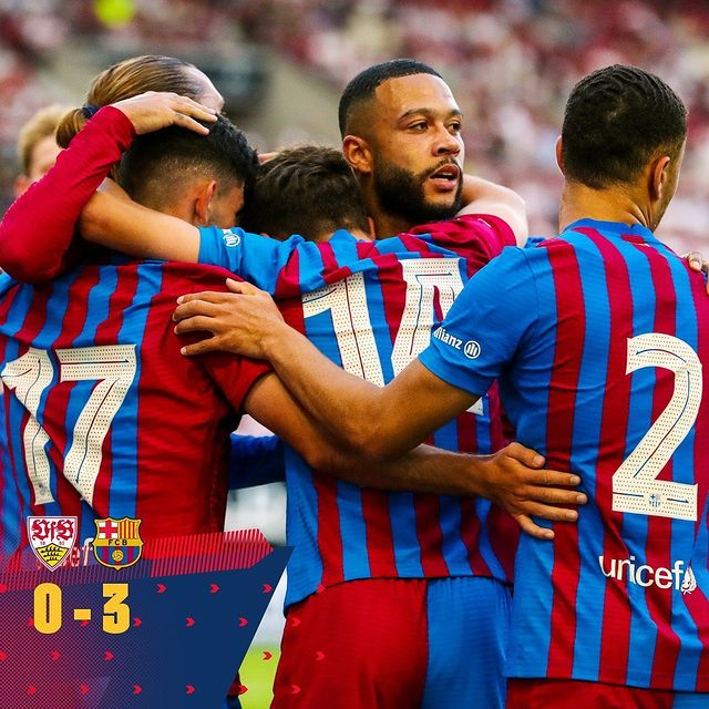 Depay xử lý đẳng cấp, ghi 2 bàn trong 2 trận đầu tiên ở Barcelona - Ảnh 10.
