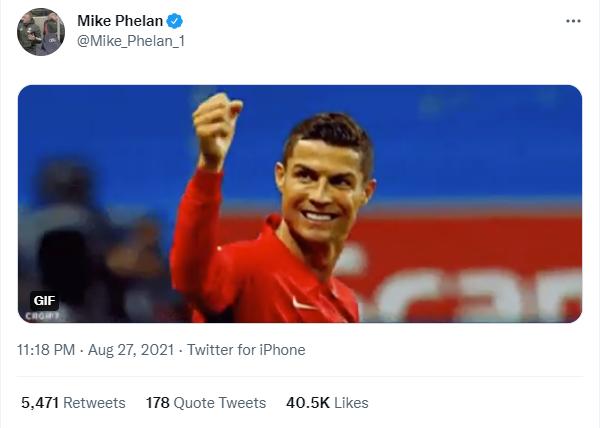 Cựu trợ lý của Sir Alex Ferguson, Mike Phelan cũng vui không kém