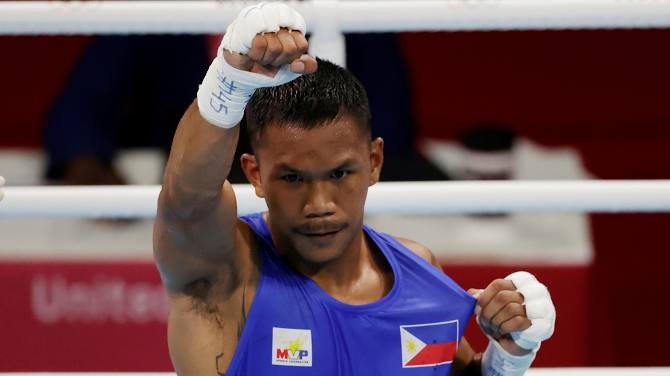 Thế hệ vàng của boxing Philippines, được truyền cảm hứng bởi Manny Pacquiao, đã tỏa sáng rực rỡ ở Olympic 2020 - Ảnh 2.