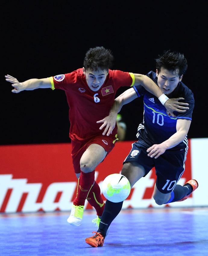 Tuyển thủ futsal Việt Nam từng ghi bàn vào lưới Brazil gửi gắm kinh nghiệm thi đấu World Cup tới các đàn em - ảnh 2