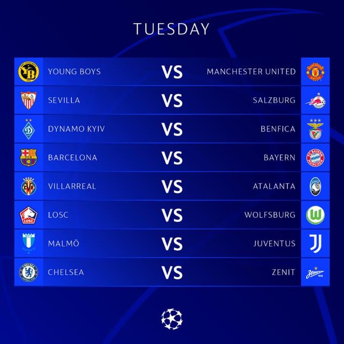 Lịch thi đấu Champions League đêm nay, rạng sáng ngày mai - Ảnh 1.