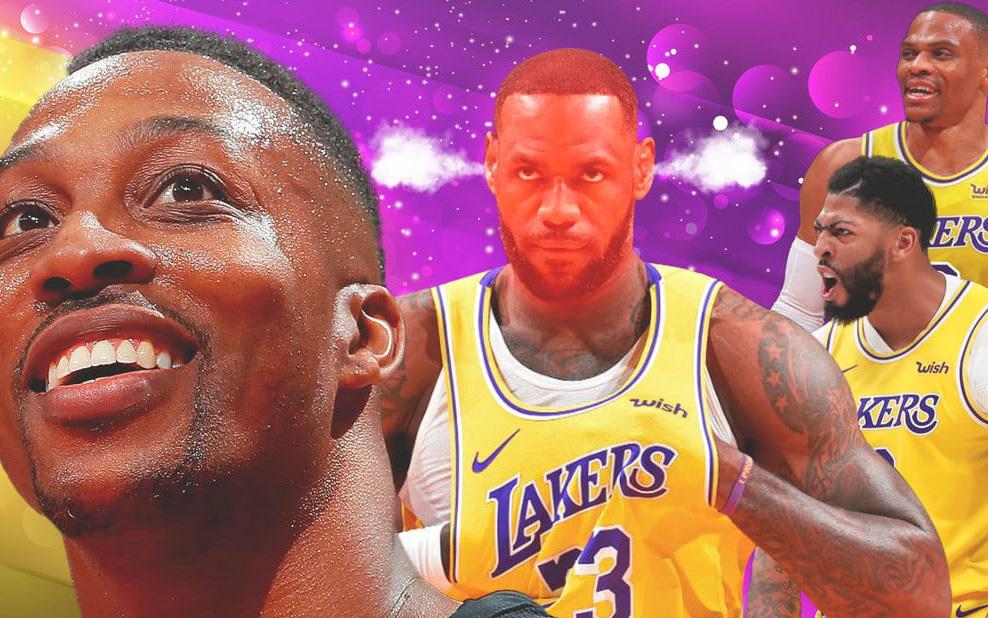 """Dwight Howard khẳng định chẳng có """"cái tôi"""" nào tồn tại ở Los Angeles Lakers"""
