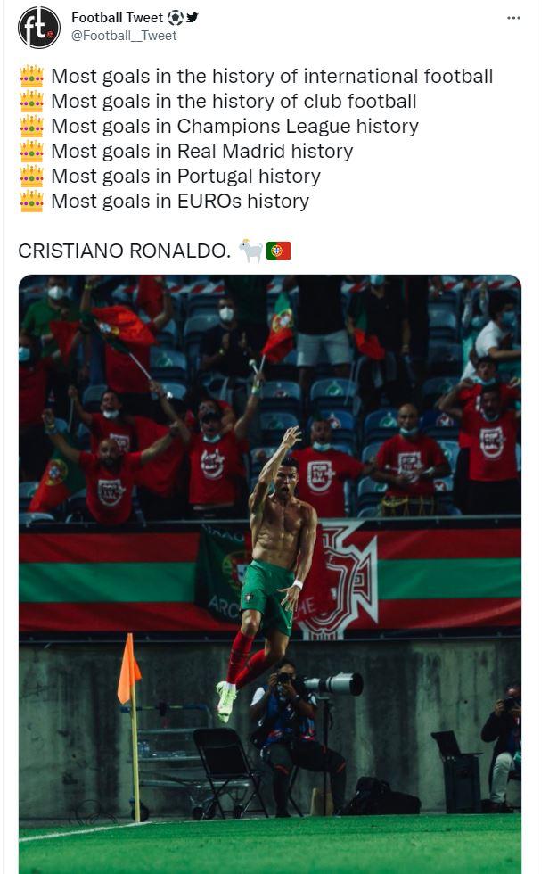 Dân mạng nổ tưng bừng trong ngày Ronaldo lập siêu kỷ lục bóng đá thế giới - Ảnh 9.