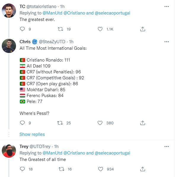 MXH tưng bừng ngày Ronaldo viết lại lịch sử ghi bàn ĐTQG - Ảnh 7.