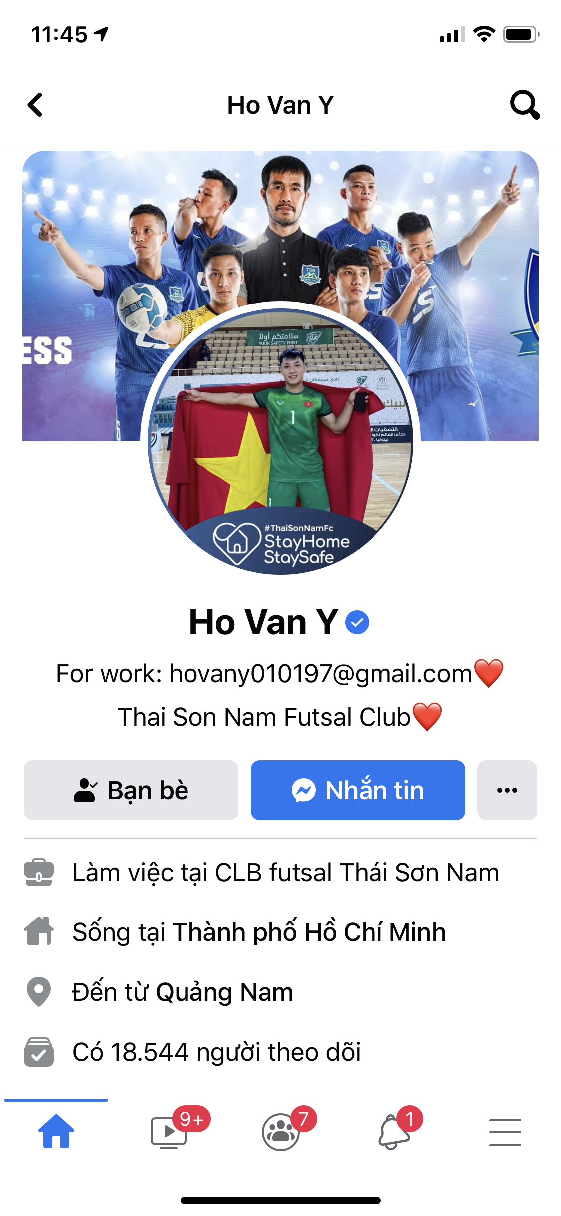 Vào đến vòng 16 đội World Cup 2021, các tuyển thủ futsal Việt Nam vẫn chỉ có lượt theo dõi khiêm tốn trên mạng xã hội - ảnh 1