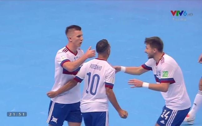 Kết quả Nga 3-2 Việt Nam, VCK futsal World Cup 2022: Chiến đấu kiên cường - Ảnh 13.