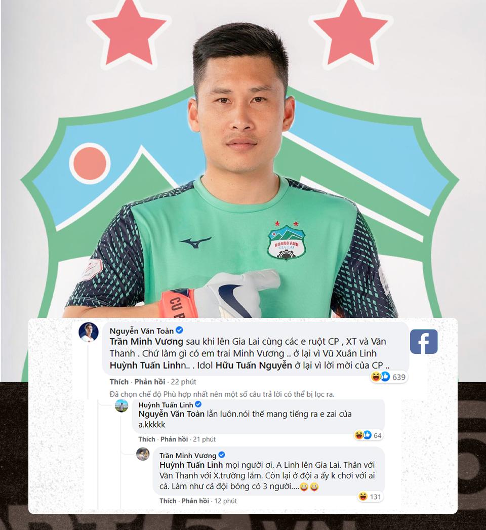 Văn Toàn tiết lộ Công Phượng mời trung vệ HAGL ký hợp đồng, thay tên đổi họ Huỳnh Tuấn Linh - Ảnh 1.