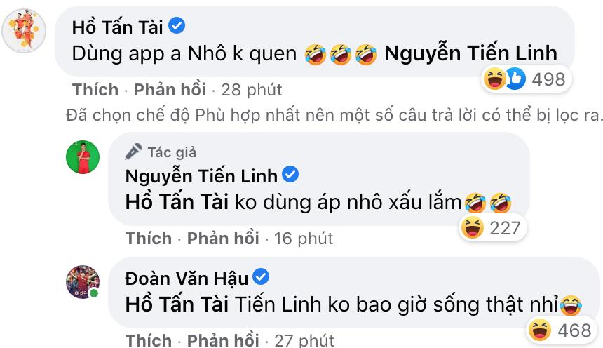 """Tiến Linh """"tố"""" Tuấn Anh """"lưu manh"""", Đoàn Văn Hậu gật gù đồng ý - Ảnh 3."""
