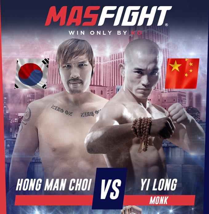 Đệ nhất Thiếu Lâm Nhất Long tái xuất, đối đầu cùng võ sĩ cao nhất thế giới - Ảnh 1.