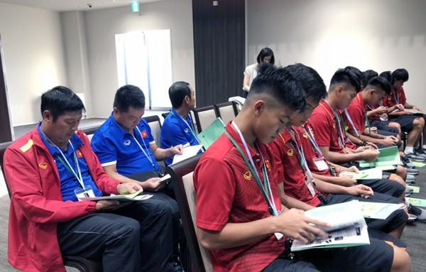 U17 Việt Nam được tập trên sân tập của đội tuyển Argentina, sẵn sàng chinh phục giải Jenesys 2018 - Ảnh 5.