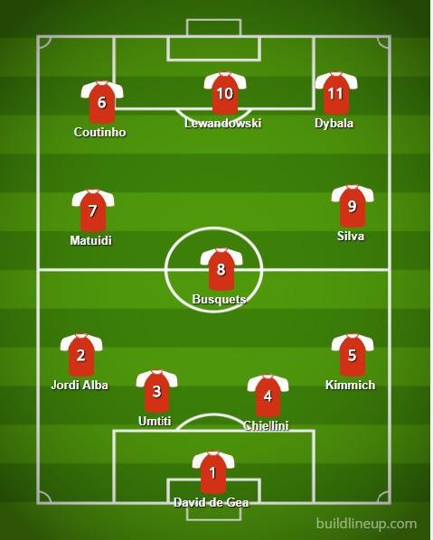 Đội hình 11 ngôi sao không có mặt trong danh sách đề cử Quả bóng vàng 2018 - Ảnh 1.