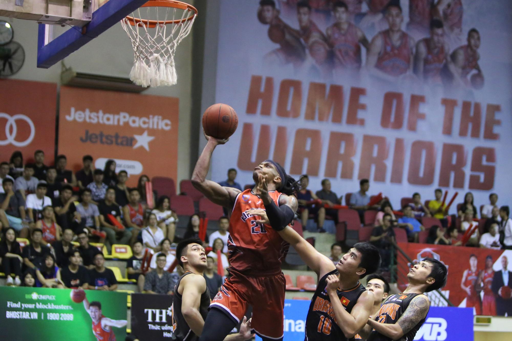 Thăng Long Warriors củng cố vị trí thứ 2 bằng chiến thắng thứ 7 liên tiếp trước Đà Nẵng Dragons  - Ảnh 4.