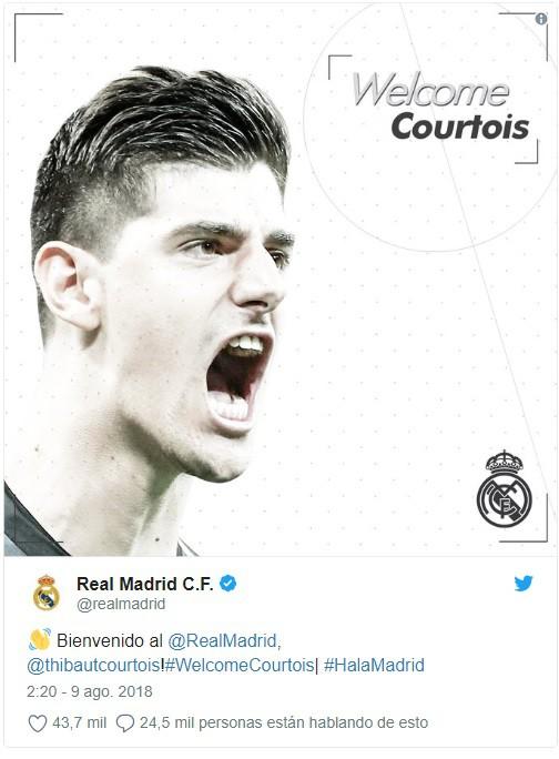 Chính thức: Thủ môn hay nhất World Cup 2018 hoàn thành ước nguyện gia nhập Real Madrid - Ảnh 1.