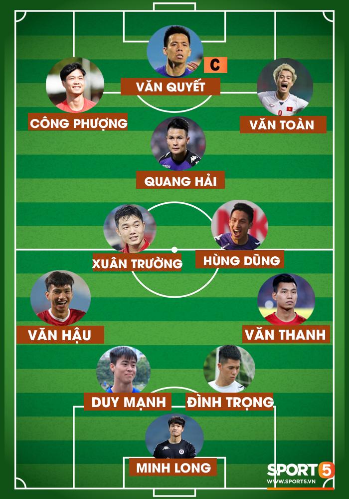 Đội hình kết hợp Hà Nội và HAGL: Không cần ngoại binh, vẫn đủ sức vô địch - Ảnh 1.