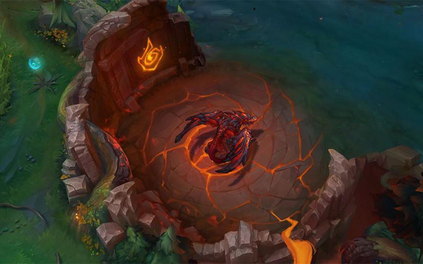 Riot Games công bố thay đổi lớn về LMHT trong giai đoạn tiền mùa giải: Rồng Nguyên Tố tương tác ''cực mạnh'' với bản đồ