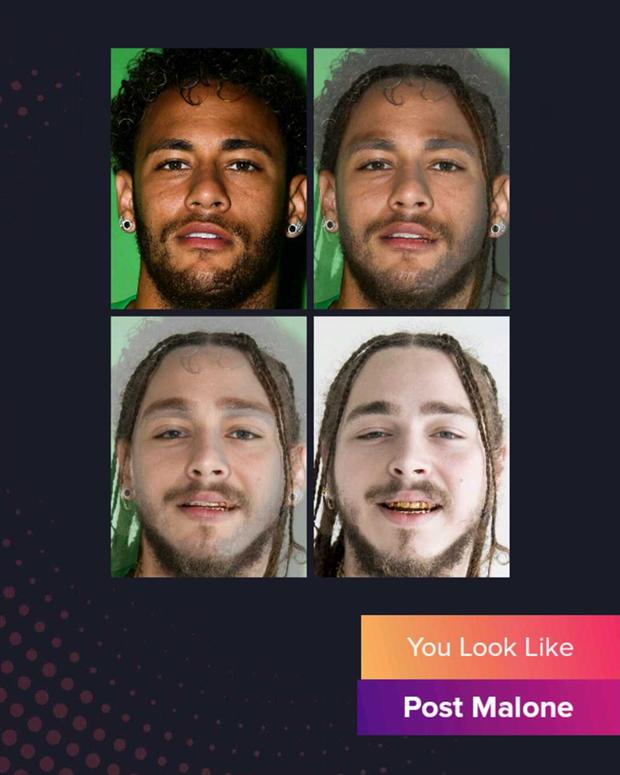 Cười đau bụng với chùm ảnh siêu sao bóng đá biến thành tài tử điện ảnh thông qua app Bạn giống ai: Messi hóa Brad Pitt, Ronaldo như Tom Cruise - Ảnh 1.